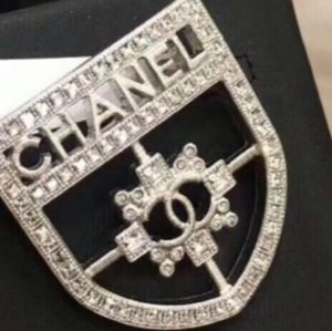 Shield Brooch from Chanel